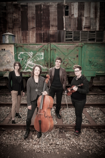 Zephyr Quartet. Photo by Sam Oster