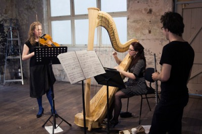 Petrichor Trio (at the Abbotsford Convent), photo by Jessica King