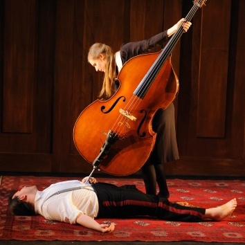 Ida Duelund in Another Lament, 2011. Photo by Paul Dunn