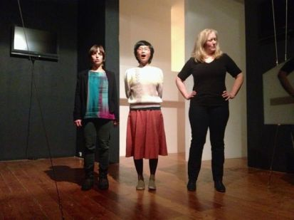 Jenny Barnes, Alice Hui-Sheng Chang and Carrolyn Connors. Photo by Elizabeth Bell
