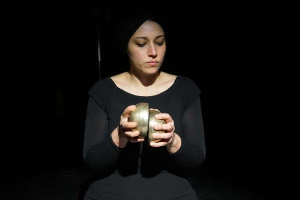 Aviva Endean performs Dual Rituals. Photo by Alexander Gellmann.
