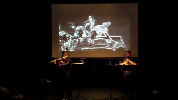 Inventi Ensemble perform Melody Eötvös' House of the Beehives. Photo courtest of the artists.